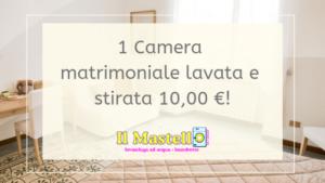 offerta lavanderia casa vacanza roma, b&b